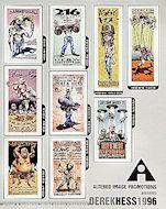 Derek Hess Posters 1996 Handbill