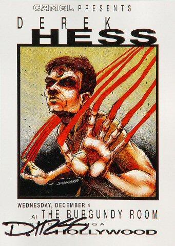 Derek Hess Handbill