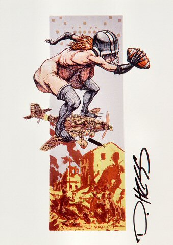 Derek Hess Postcard