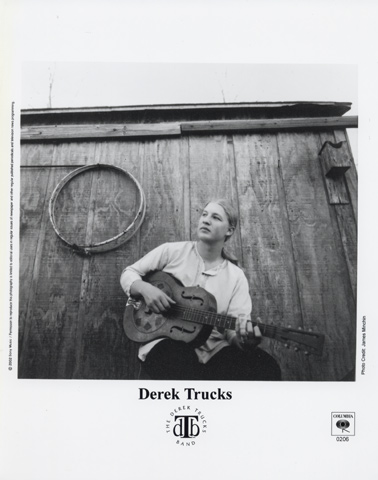Derek Trucks Promo Print