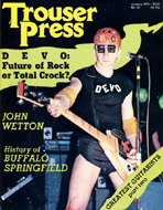 Buffalo Springfield Trouser Press Magazine
