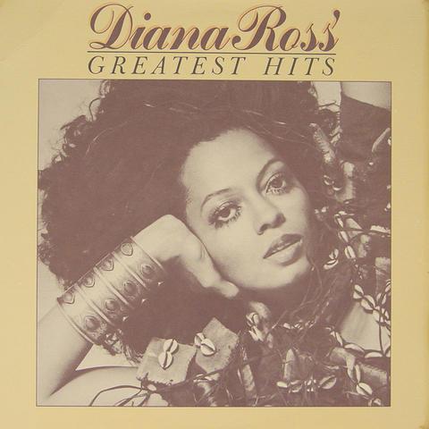 Diana Ross Vinyl (Used)