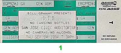 Dio1990s Ticket