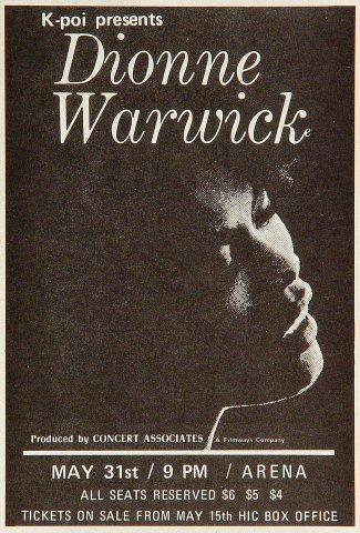 Dionne WarwickHandbill