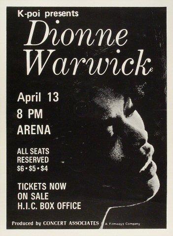 Dionne WarwickPoster
