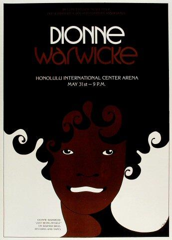 Dionne Warwick Poster