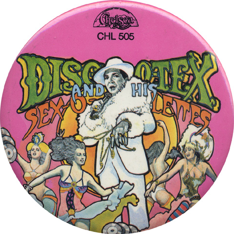 Disco-Tex and the Sex-O-Lettes Vintage Pin
