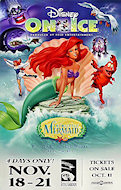 Disney On Ice - The Little Mermaid Poster