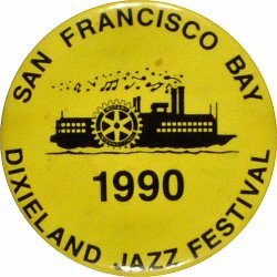 Dixieland Jazz FestivalVintage Pin