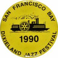 Dixieland Jazz Festival Vintage Pin