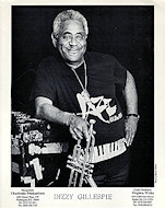 Dizzy Gillespie Promo Print