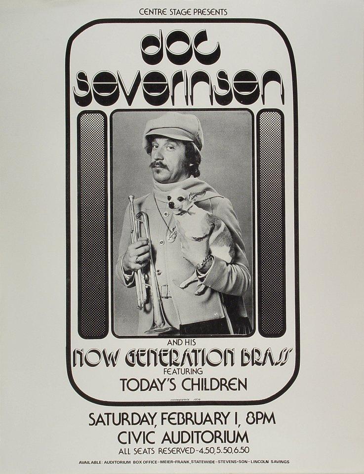 Doc Severinsen Poster