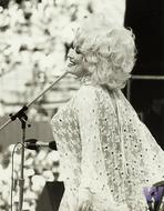 Dolly Parton Vintage Print
