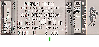 "Don ""DC"" Party 1990s Ticket"