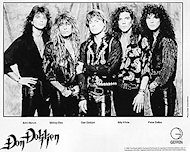 Don Dokken Promo Print