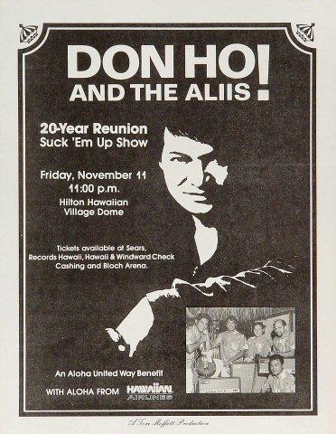 Don Ho Handbill