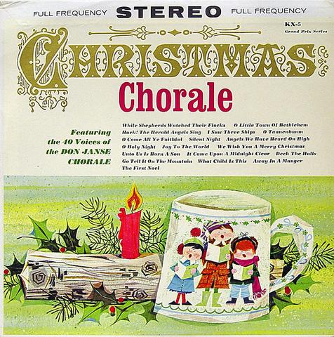 Don Janse Chorale Vinyl (Used)