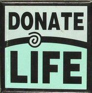 Donate Life Vintage Pin