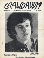Donovan Crawdaddy Magazine