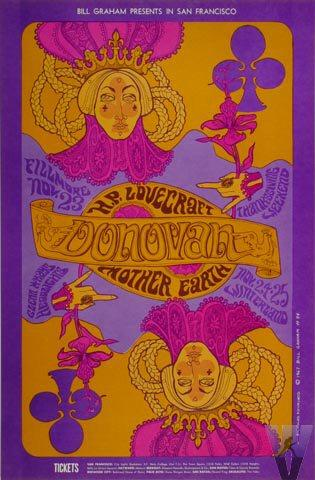 Donovan Handbill