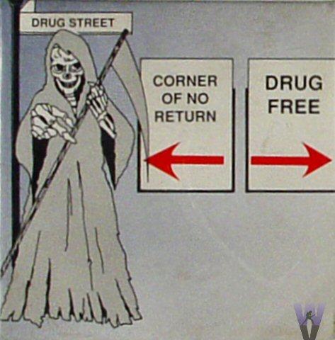 Drug StreetVintage Pin