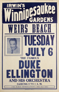 Duke Ellington and His Orchestra Poster