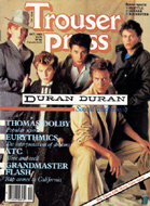 Duran Duran Trouser Press Magazine