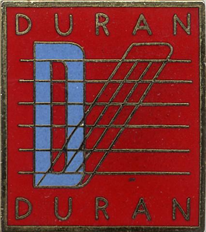 Duran DuranVintage Pin
