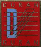 Duran Duran Vintage Pin