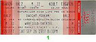 Dwight Yoakam 1980s Ticket