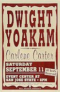 Dwight Yoakam Poster