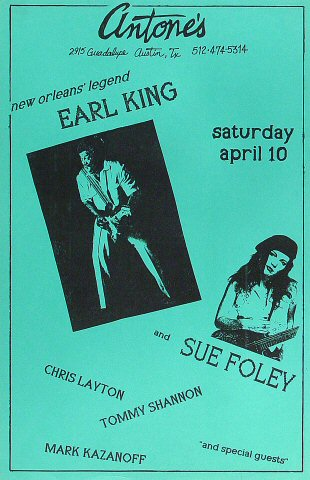 Earl King Poster
