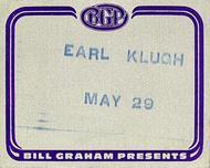 Earl Klugh Backstage Pass