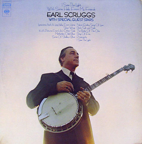 "Earl Scruggs Vinyl 12"" (Used)"