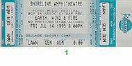 Earth, Wind & Fire 1990s Ticket