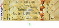 Earth, Wind & Fire Post 2000 Ticket