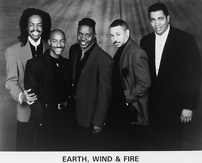 Earth, Wind & Fire Promo Print