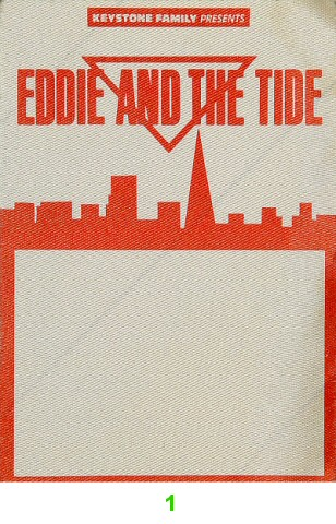 Eddie and the Tide Backstage Pass