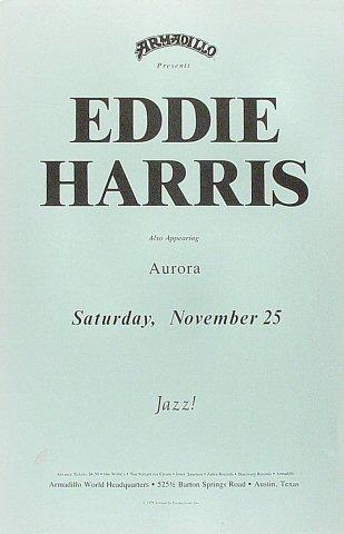 Eddie Harris Poster