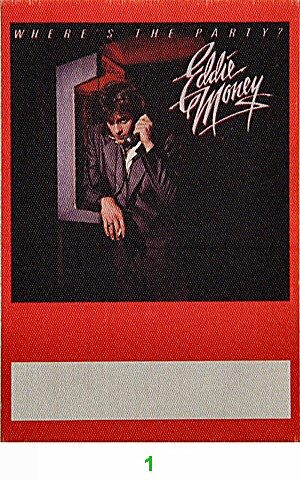 Eddie Money Backstage Pass