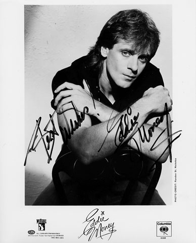 Eddie Money Promo Print