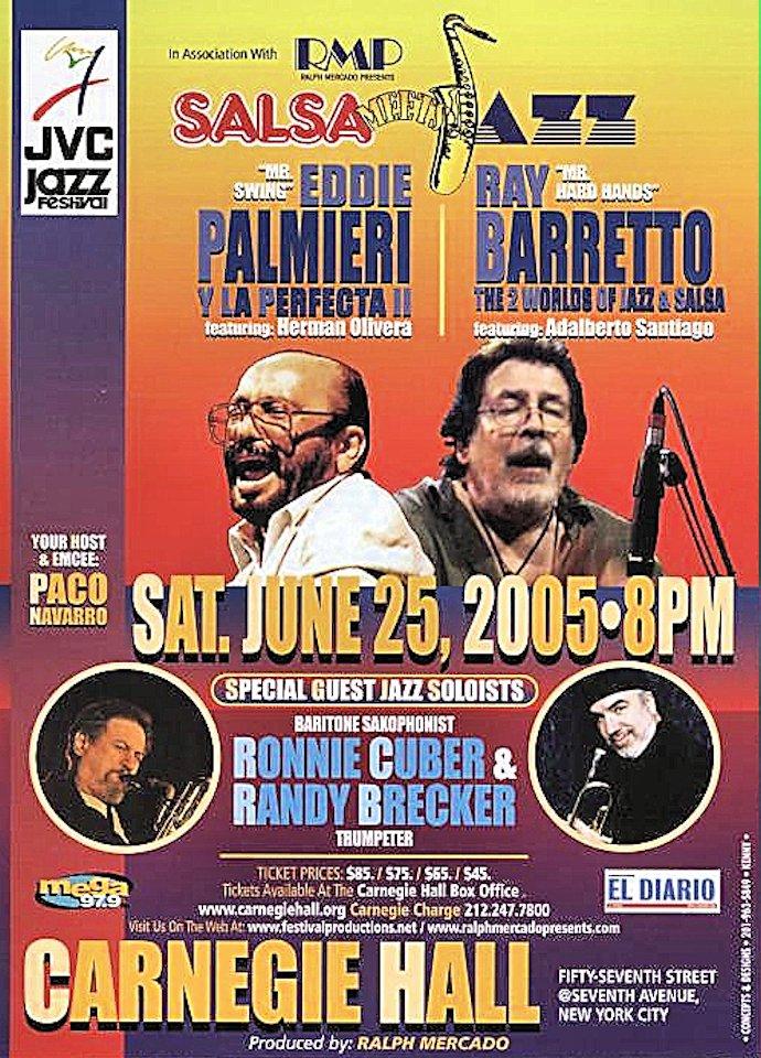 Eddie Palmieri Handbill