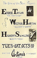 Eddie Taylor Poster