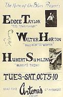 Eddie Taylor Poster