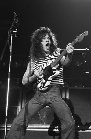Eddie Van HalenFine Art Print