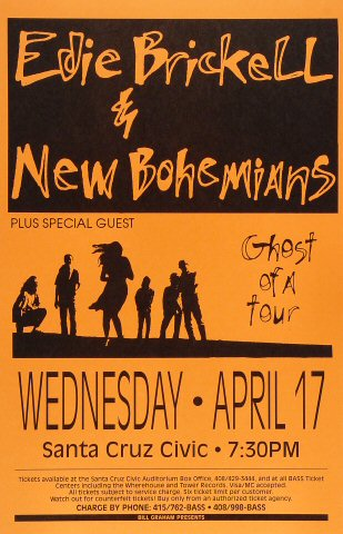 Edie Brickell & New Bohemians Poster