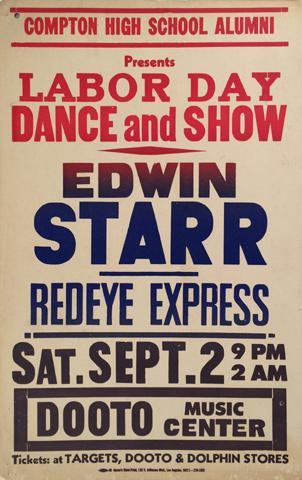 Edwin Starr Poster