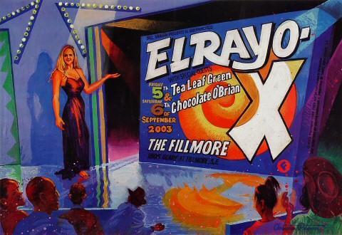 El Rayo-X Poster