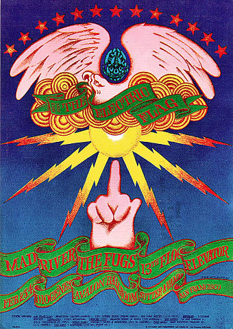 13th Floor Elevators Postcard