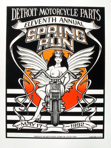 Eleventh Annual Spring Run Poster